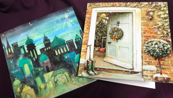 Nightshelter Christmas cards on sale!