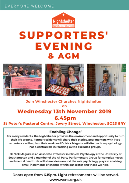 Supporter's Evening poster