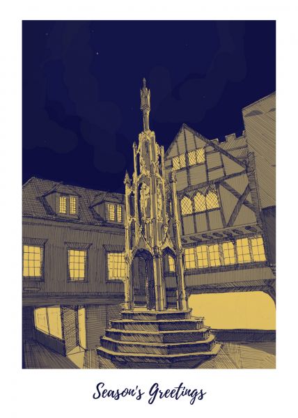 Winchester charity Christmas cards